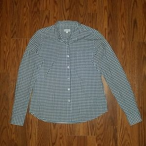Steven Alan Plaid Button Up Longsleeve Shirt